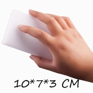 Image 2 - GIZILI 50 יח\חבילה באיכות גבוהה קסם ספוג Eraser מלמין ספוג מנקה עבור מטבח משרד אמבטיה ניקוי 10x7x3cm