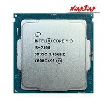 Intel Core i3-7100 i3 7100 3.9 GHz Dual-Core Quad-Draad CPU Processor 3 M 51 W LGA 1151