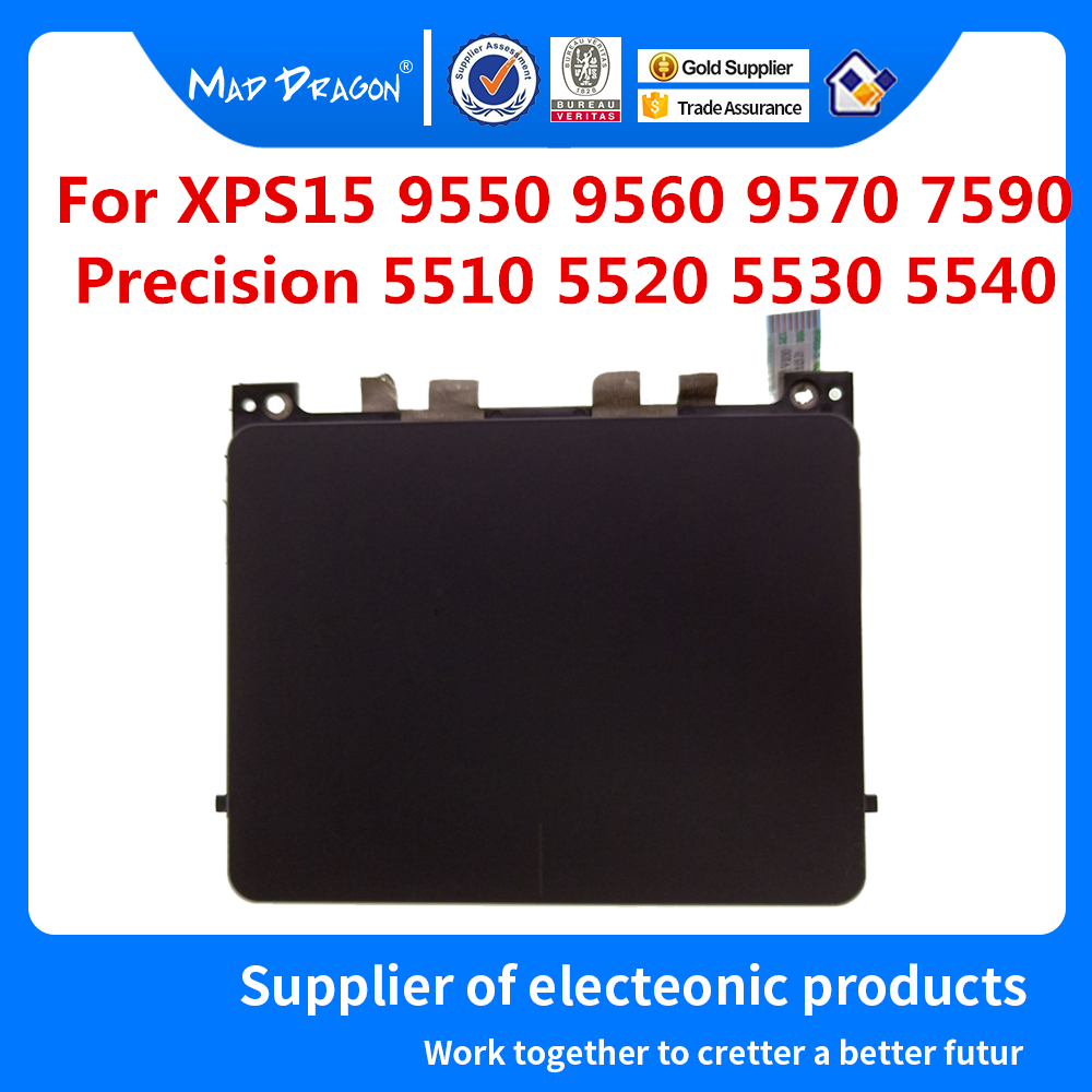 Laptop New original Touchpad Sensor Module for Dell XPS15 9550 9560 9570 7590 Precision 5510 5520 5530 5540 M5510 GJ46G 0GJ46G image