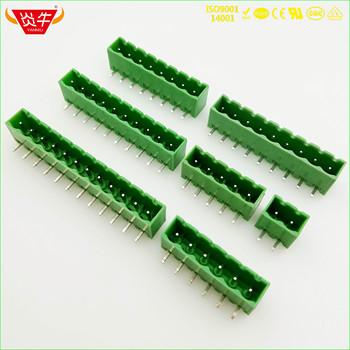 KF2EDGRC 5 08 2 P ~ 12P złącze pcb PLUG-IN terminala blok 2EDGRC 5 08mm 2PIN ~ 12PIN MSTBA 2 5G 1757242 phoenix contact firma DEGSON tanie i dobre opinie NoEnName_Null Rohs CN (pochodzenie) 1-10 KF2EDGRC-5 08 11-20 AWG CHINA BRASS TIN PLATING M2 5 STEEL PLATING CR3+PASSIVATION COLOR ZINC