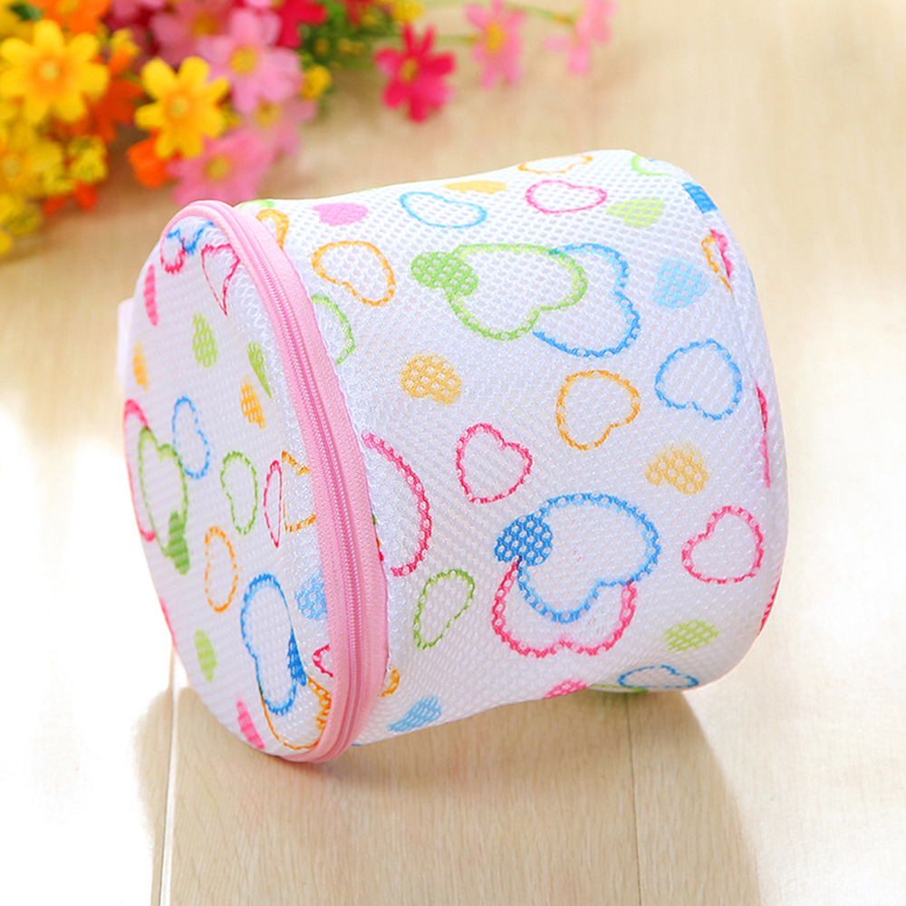 1pcs Lingerie Washing Bag With Zipper Prevent Bra Deformation Mesh Laundry Storage Underwear Wash Bag Home Bathroom Organizer