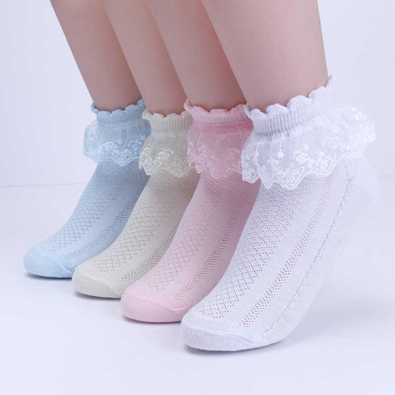 0-16Y תינוקת גרב לילדים בנות תחרה גרבי אופנה בנות לנשימה לפרוע נסיכת גרב ילדי גרבי ריקוד