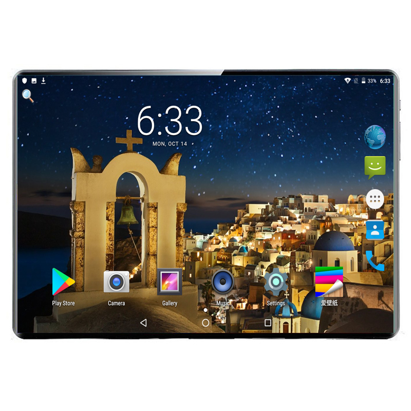 2020 New 10 Inch Tablet Pc Octa Core RAM 6GB ROM 128GB IPS Tablets Android 9.0 WiFi Bluetooth GPS 3G 4G Phone Call Dual SIM GPS