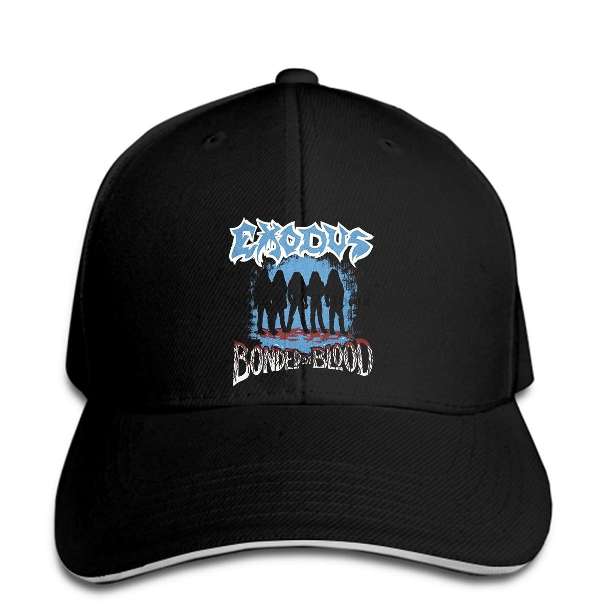 Baseball cap Vintage Print hat 80's EXODUS Tour Concert 1986 Slay Team BAY AREA THRASH Reprint