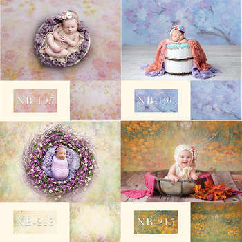 Photography Backdrop Newborn Baby Birthday Party Background for Photo Studio Flowers Abstract Children Portrait Floral Photocall children birthday party selfie photo background decoration newborn baby kids portrait backdrop photography photo shoot photocall