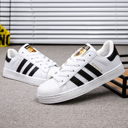 Adidas couple sports shoes men's tennis casual shoes light drifting running shoes outdoor sports men's shoes comfortable shoes