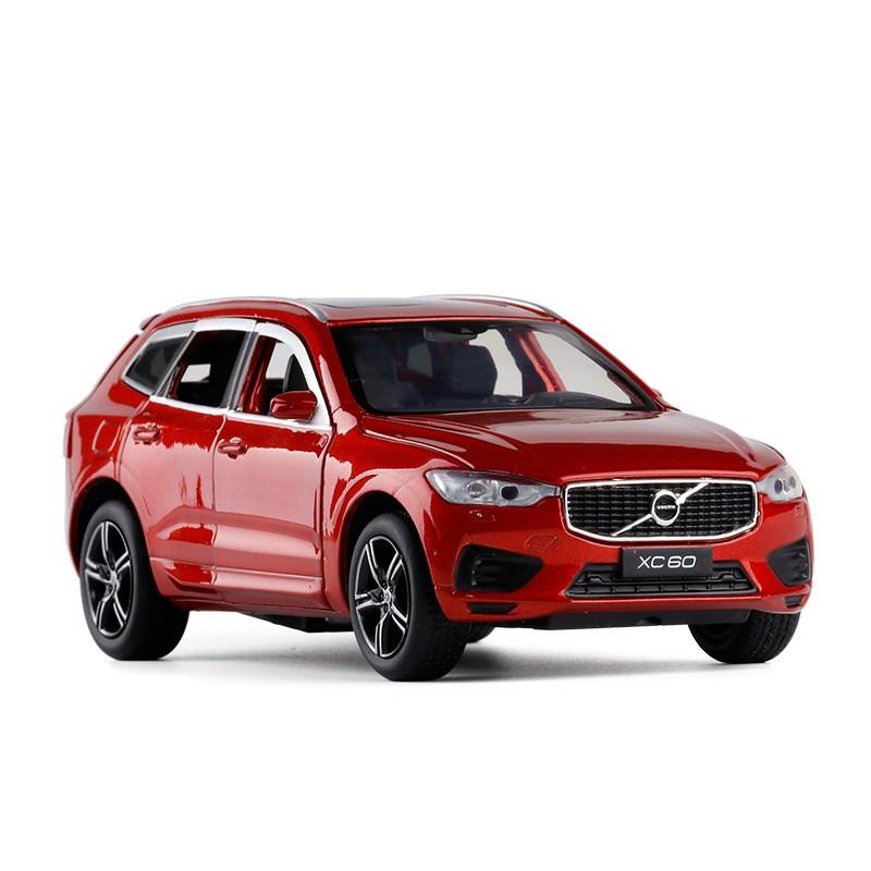 Exquisite Gift 1:32 XC60 Off-road Alloy Model,simulation Die-cast Metal Sound And Light Back Force Car Model,free Shipping