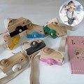 Bonito nordic brinquedos de madeira câmera crianças pendurado câmera foto prop decoração montessori brinquedos do bebê aniversário presentes natal