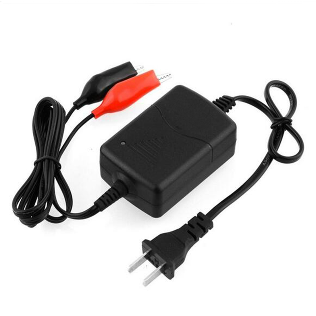 Black Eduton Auto Car Motorcycle ATV DC 12V//1A 15W Smart Fast Universal Portable Multi-Mode Rechargeable Battery Charger Tender Maintainer