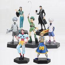 Figurines Hunter X Hunter en PVC,jouets, Gon Freecss, Killua Zoldyck, Irumi Zorudikku, Kurapika, curarpikt, Hisoka hyskoa Kulolo, 20 cm,
