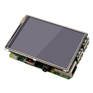 Image 5 - 3.5 Inch LCD Touch Screen Display for Raspberry Pi 4 Model B Raspberry Pi 3B+ Pi 3 480x320 Pixels with Stylus + Acrylic Case