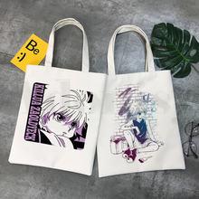 Простой женский пакет hunter x killua с аниме мангой элегантная