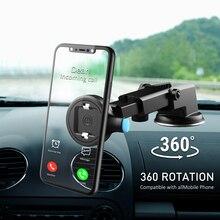 吸盤自動車電話ホルダー 360 マウント車スタンドなし磁気サポートモバイル携帯携帯電話スマートフォンiphone 11 プロ最大xiaomi
