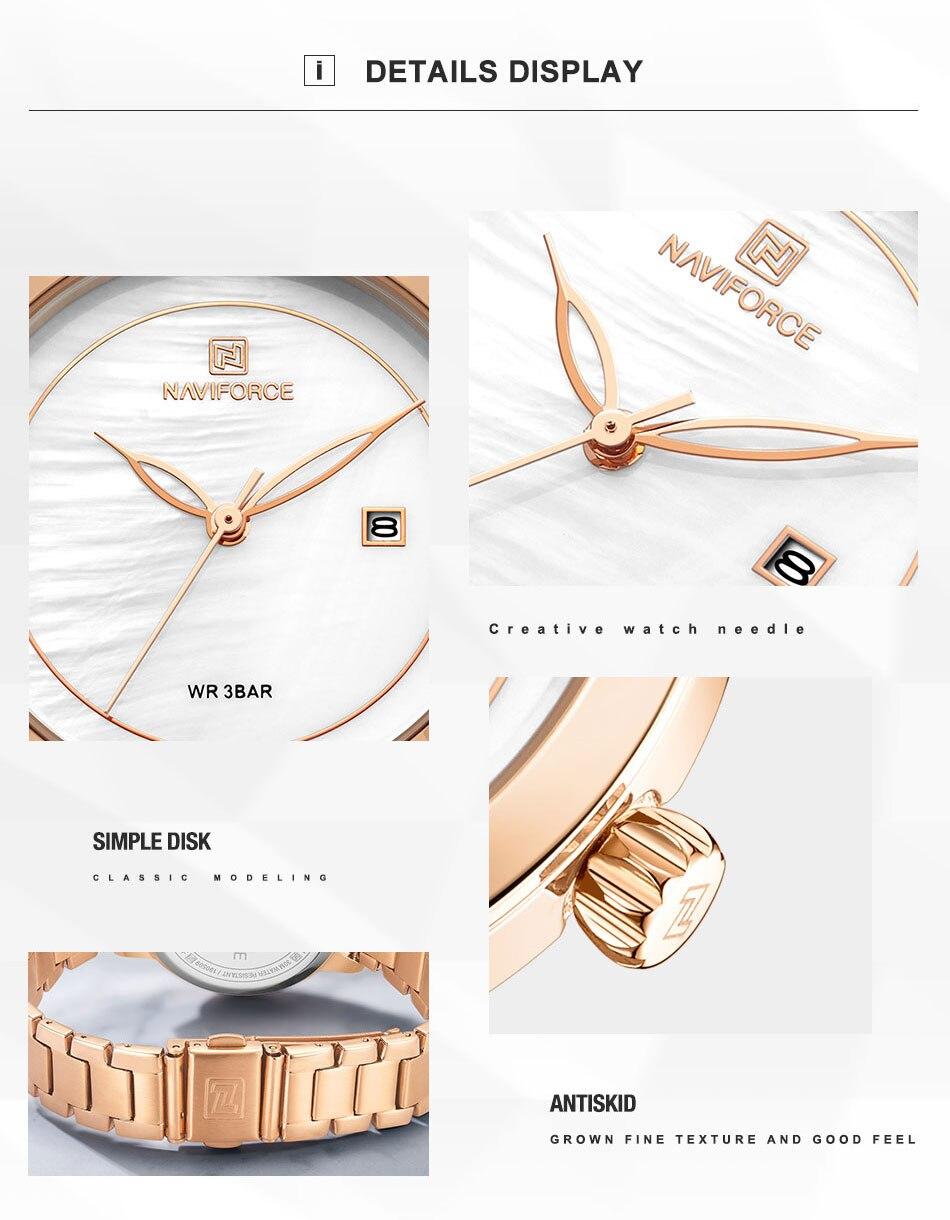ouro para as mulheres quartzo relógios de