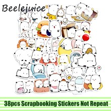 38pcs Funny meme Stickers paster anime movie decals scrapbooking diy phone laptop waterproof home decorations gift(China)