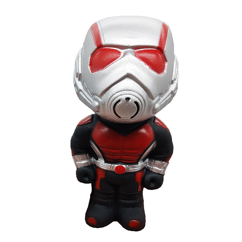 Cute Squishy Slow Rising SqueeToys Marvel Figure Squishy Heroes Captain Hulk Ant-man Iron Man Squeeze Antistress Soft Kids Toys