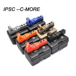 IPSC Sport taktyczne kolimator Red Dot C-MORE luneta światłowodowe strzelanie szkolenia