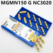 MGMN150 G NC3020/NC3030/PC9030 slotted carbide blade 1.5mm metal lathe turning tool MGMN150-G fixed slot milling cutter