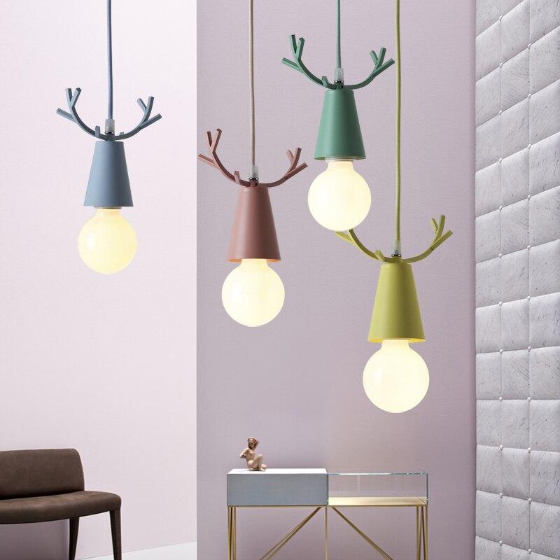 moderno cervos pingente luzes natal chifres pendurado 04