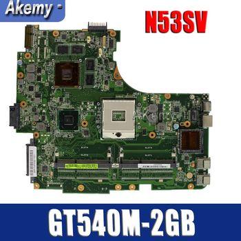 Amazoon N53SN Laptop motherboard for ASUS N53SN N53SM N53SV N53S N53 Test original mainboard GT540M 2GB HM65