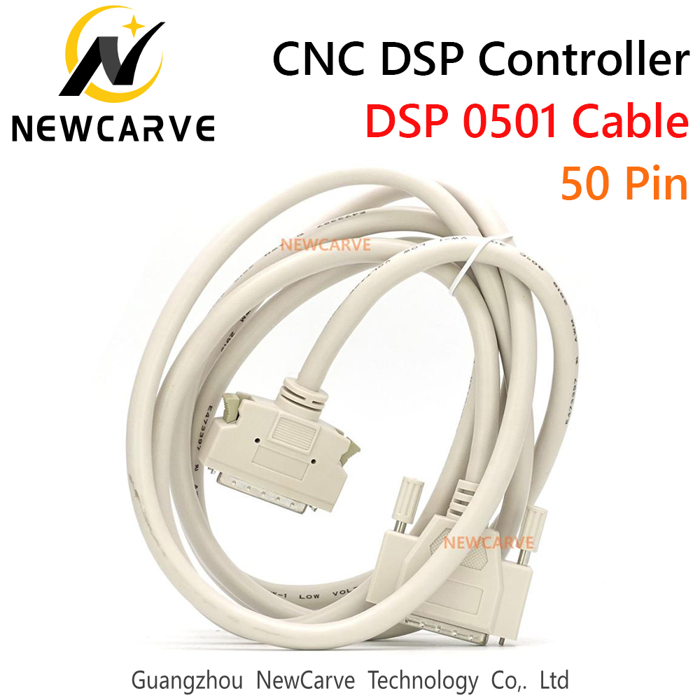 0501 DSP Cable 50 Pin Connetion For 0501 Controller System For CNC Router NEWCARVE