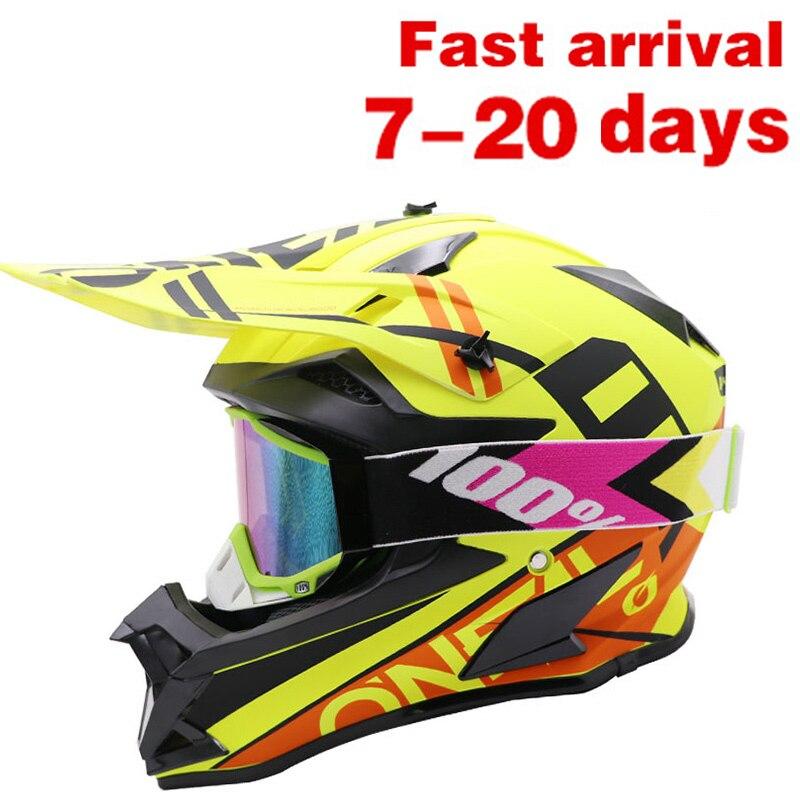 Motocross Helmet Off-road Double Lens Motorcycle Adult Outdoor Dirt Bike Full Face