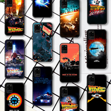 Capa de telefone de volta para o futuro filme para samsung galaxy note s 8 9 10 20 plus e lite uitra preto coque tendência prime tpu funda