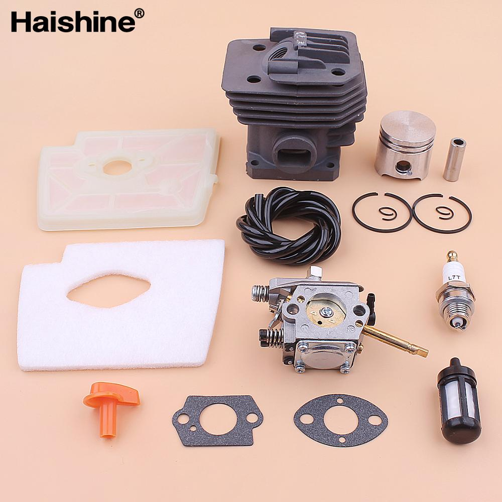 35mm Cylinder Piston Carburetor Kit For Stihl FS160 FS 160 Air Fuel Filter Line Spark Plug Gasket Trimmer