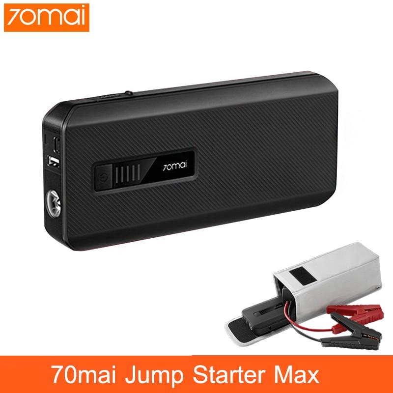 NEW Xiaomi 70mai Jump Starter Max 18000mah 1000A Power Bank Car Jumpstarter Auto Buster Car Emergency Booster