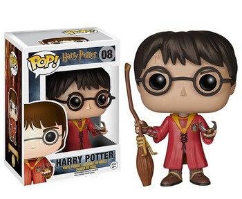 FUNKO POP Harry Potter film and television peripherals funko pop 08 Quidditch desktop decoration figure