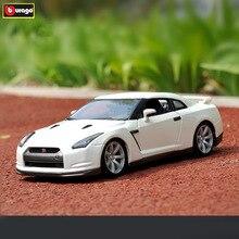 Bburago 1:18 2009 Nissan GT-Rcar alloy car model simulation car decoration collection gift toy Die casting model boy toy стоимость