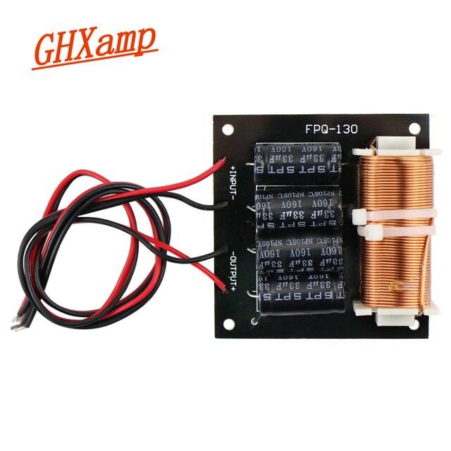 مضخم الصوت النقي GHXAMP كروس مع كابل 125 هرتز 800 واط مقسم تردد مضخم الصوت لمضخم الصوت 5 18 بوصة 1 قطعة