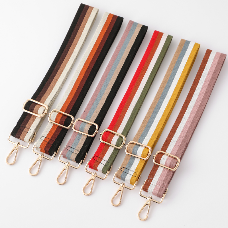 Women's Bag With  Adjustable Shoulder Belt Wide 3.8cm  Nylon Belt Bag Sling Handbag Accessories Women's Decorative
