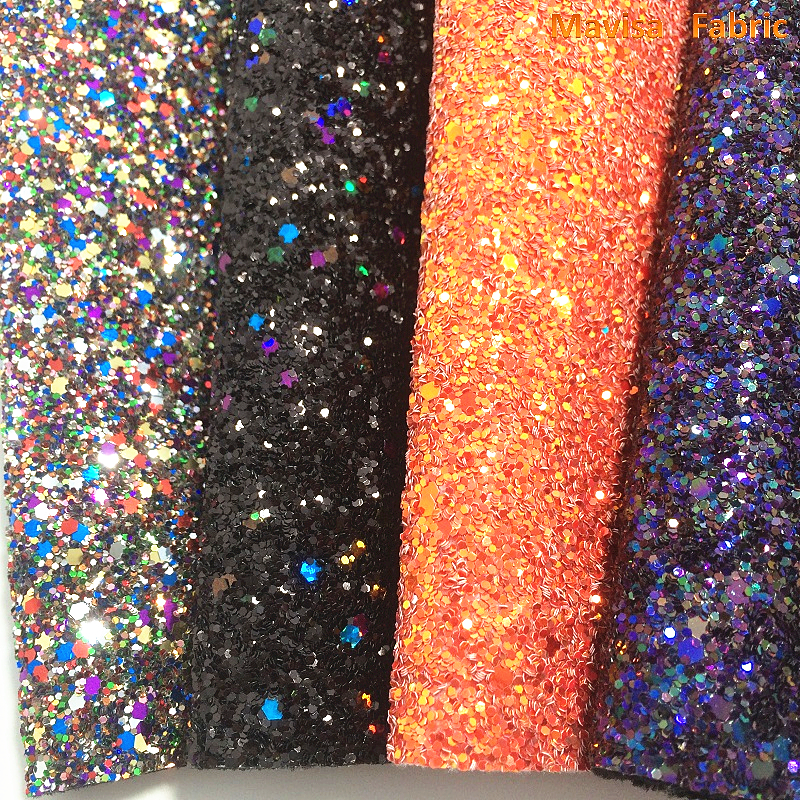 1PCS A4 SIZE 21X29cm  Synthetic Leather Chunky Glitter Fabric Printed Marble Grain For Bow DIY  Handbags Shoes MJ053