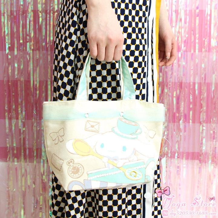 Japanese-style Cute Cinnamon Dog Handbag Cosmetic Bag Storgage Bag Sundry Bag GIRL'S Heart Birthday Gift Mobile Phone Bag Adorab