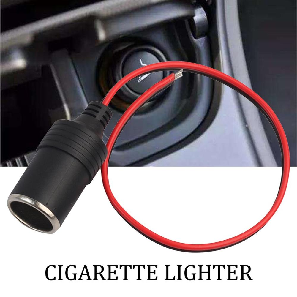 Car Cigarette Lighter Charger Cable Female Socket Adapter Connector Cigarette Lighter Female Plug Car Accessories