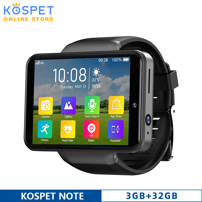 Permalink to KOSPET NOTE 4G Smart Watch 2.4″ Men watch Android 7.1 Dual Camera 2000mAh 3GB 32GB Bluetooth Phone Watch Face Unlock Smartwatch
