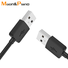 USB إلى تمديدات كابلات USB الذكور إلى الذكور USB 2.0 موسع عالية الجودة 1m 2m 3m الحبل ل قرص صلب مجموعة أعلى مربع التلفزيون المحمول