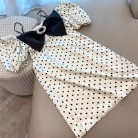 2020 Women Midi Party Dresses Geometric Print Summer Boho Beach Dress Loose Batwing Sleeve Dress Vestidos
