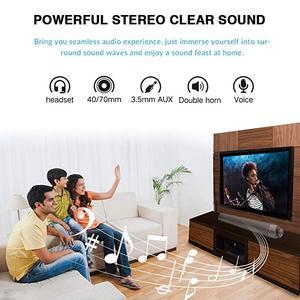 Image 3 - 10W Bluetooth Speaker Sound Bar Wireless Subwoofer Soundbar Receiver Stereo Super Bass Loudspeaker For iphone TV Phone