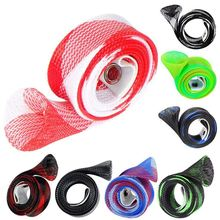 Fishing Rod Cover Braided Strap Reel Glove Protector (10 Pack)