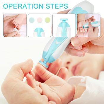 Electric Baby Nail Trimmer Kids Scissors Infant Nail Care Tools Safe Nail Clipper Cutter For Newbron Nail Trimmer Manicure D30 недорого