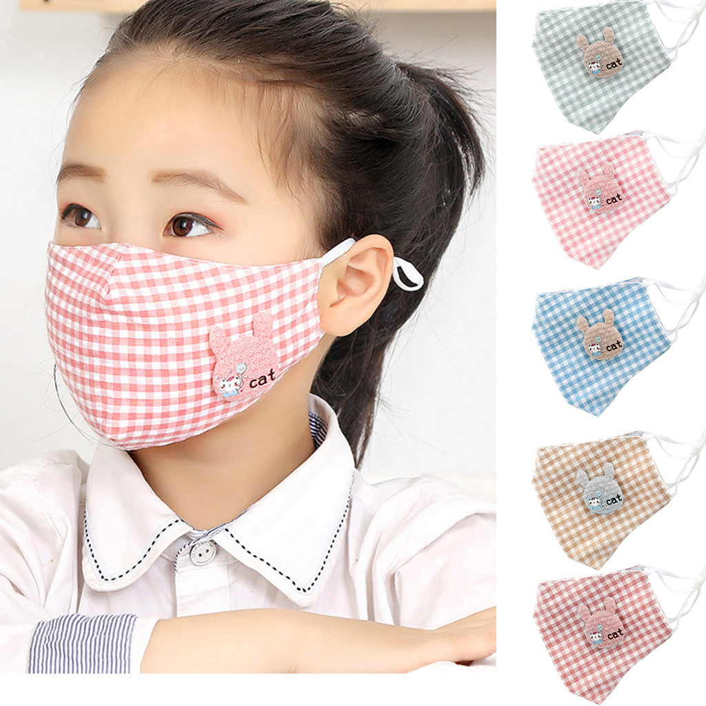 Children Cotton Dustproof Mouth Masque Anti Pollution Reusable Mouth-muffle Mondkapjes Mascarillas Mascherine For Boys Girls