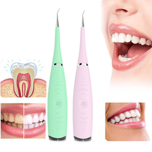 1pcs Portable Electric Sonic Dental Scaler Tooth Calculus Remover Tooth Stains Tartar Tool Dentist Whiten Teeth Health Hygiene new beauty teeth tool set sonic wave electric dental calculus tartar stains tool remover toothwash dentist