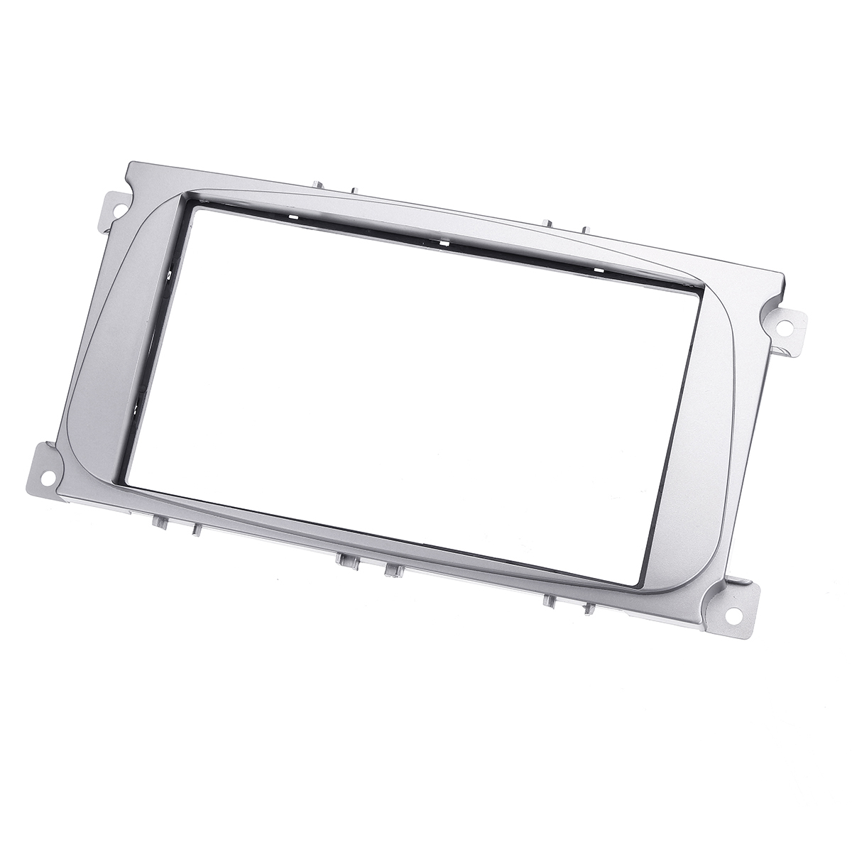 2 Din Car Stereo Radio Fascia Panel Plate Frame Kit For FORD For Focus II Mondeo S-Max C-Max Galaxy II Kuga image
