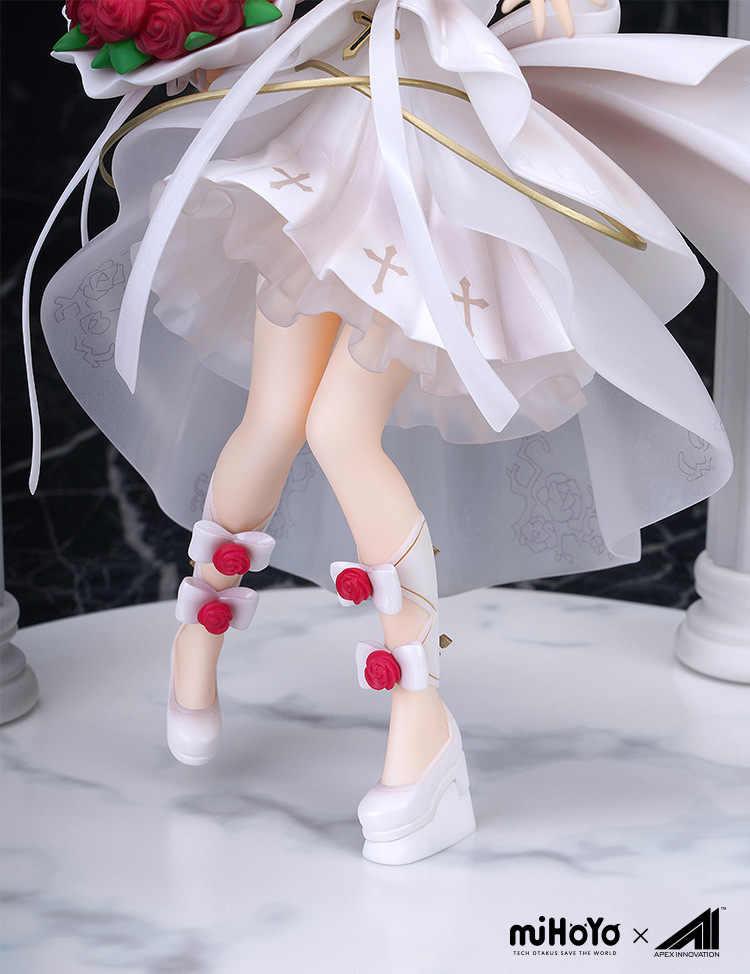 Animal Honkai Impacto 3 Caráter Theresa Apocalipse Casamento Meninas Action Figure Modelo Brinquedos