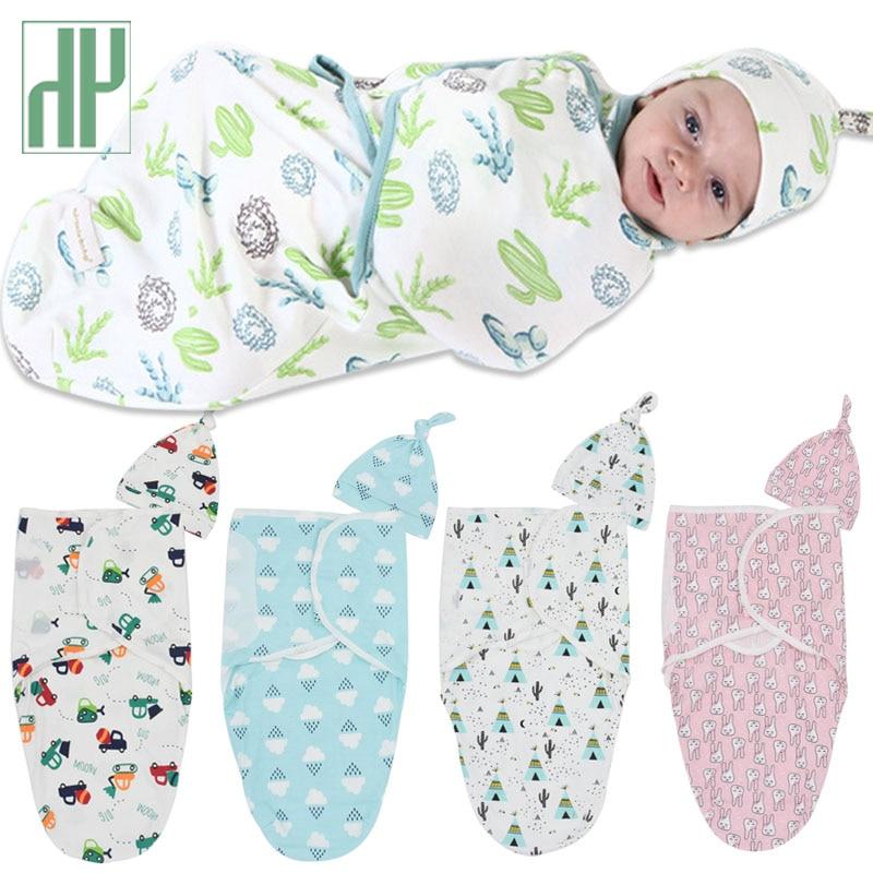 2Pcs/Set Muslin Baby Swaddle Diaper 100% Cotton Infant Newborn Thin Baby Wrap Envelope Swaddling Swaddleme Sleep Bag Sleepsack