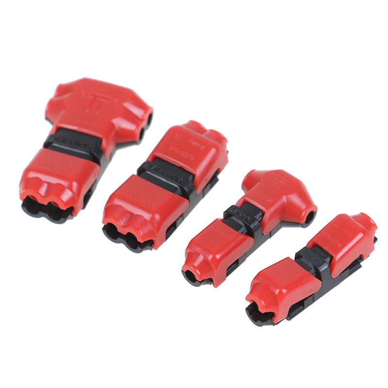 Hot T/I Type 1pin/2pin Kabel Connector Terminals Crimp Scotch Lock Quick Splice Elektrische Auto Audio 18-24AWG draad Kit Tool Nieuwe