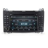 Car Multimedia Player GPS 2 Din DVD Automotivo For Mercedes/Benz/Sprinter/B200/B class/W245/B170/W169 Radio DAB+TPMS
