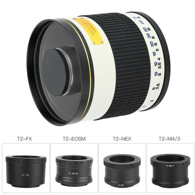 Full Frame Camera Lens for Canon and Sony
